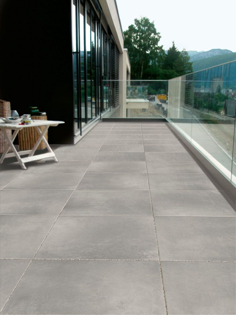 Solid Grey 61×61 20 mm
