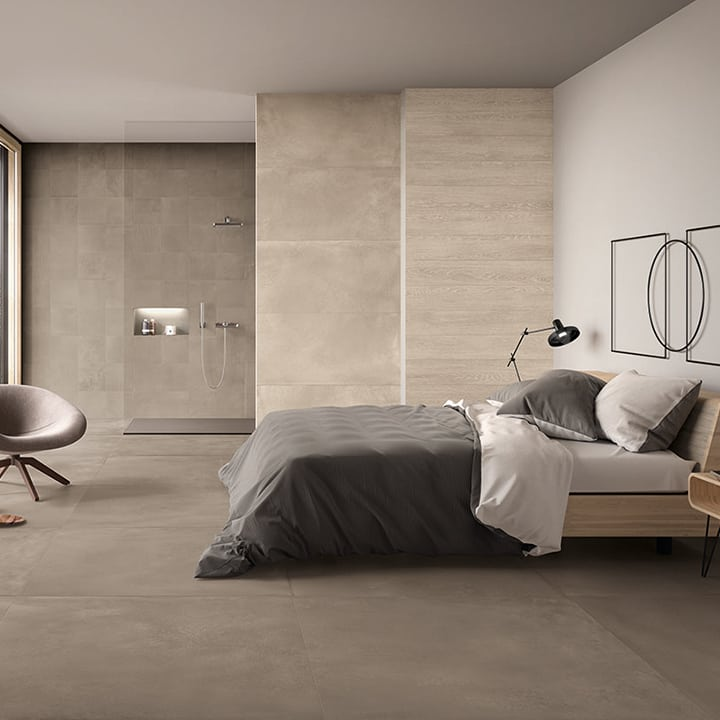 Lemmens tegels | Keramische tegels slaapkamer