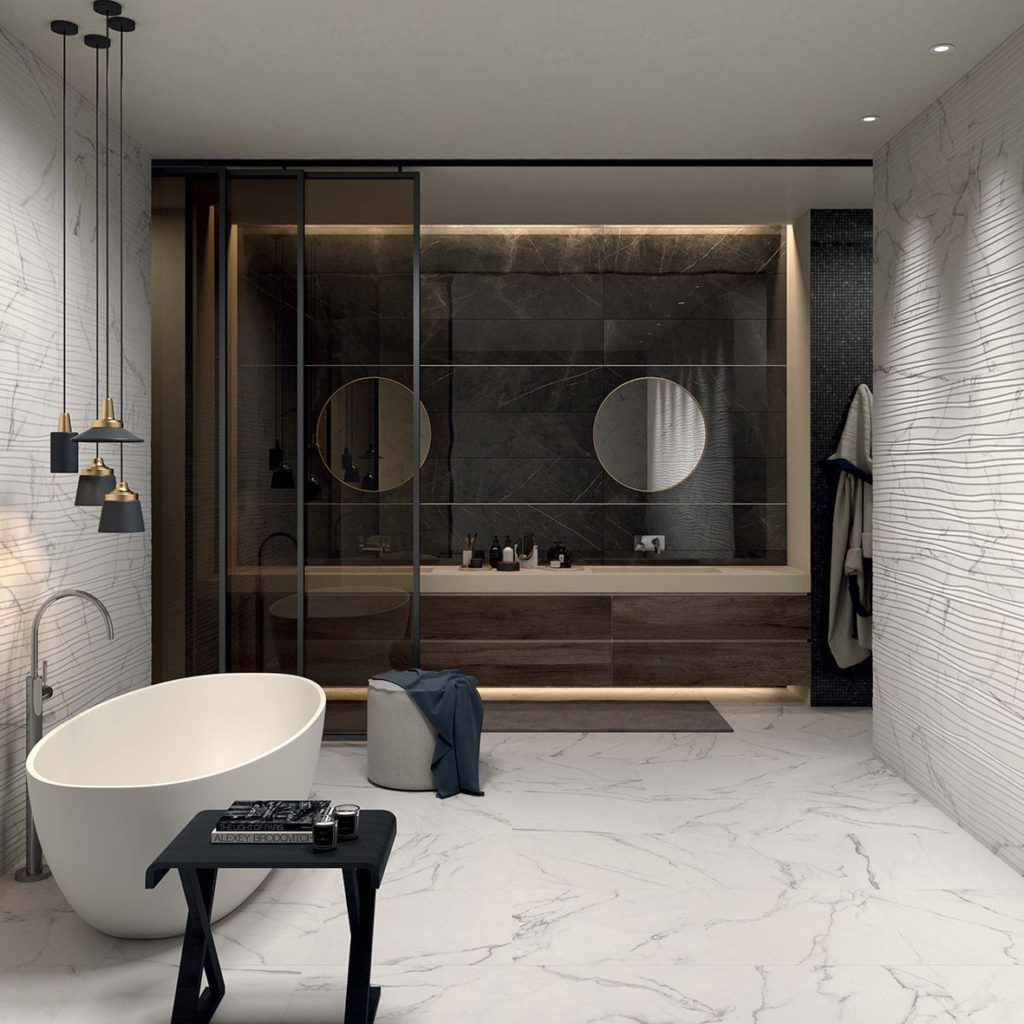 Marble Beauty Carrara Bianco + Marble Beauty Feel Carrara Bianco +Pietra Grey