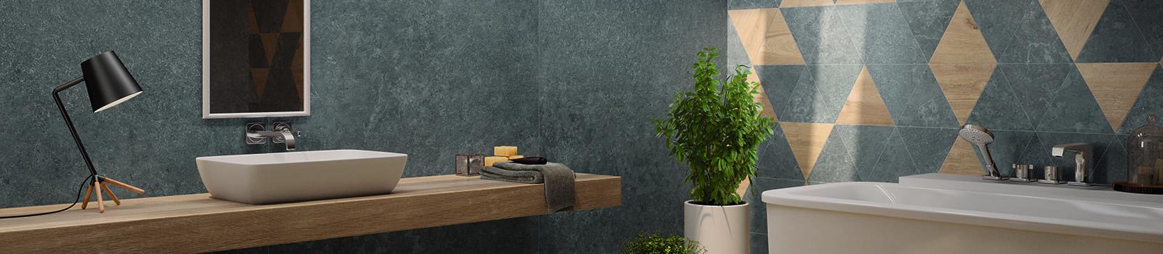 badkamer keramische tegels