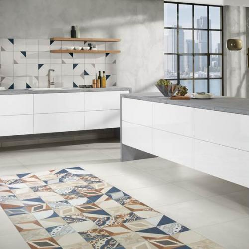 Lemmens Tegels | Keramische tegels - keuken retro